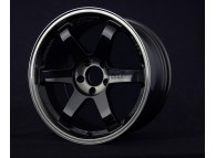 RAYS TE37SL 18x10.5 +15 5-114.3 Pressed Double Black