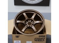 RAYS GRAMLIGHTS 57DR 18 x 9.5 +22 5-114.3 Dark Bronze