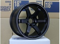 RAYS TE37RT 18x9.5 +22 5-114.3 BLACK EDITION