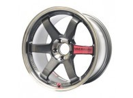 RAYS VOLK RACING TE37SL 18x9.5 +35 5-114.3 Pressed Graphite
