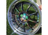 SSR Professor SP5 18x9.5 +37 5-114.3 SPECTRUM SILVER